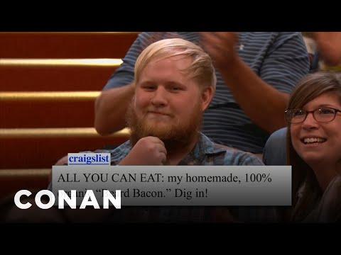 Conan Audience Craigslist For 10/17/12 - CONAN on TBS