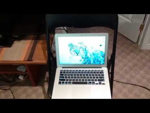 Connect Macbook Air to TV with HDMI and ThunderBolt and get Sound Working