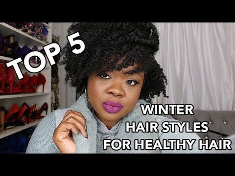 Top 5 Winter Hair Styles For Healthy Hair