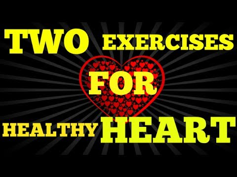 HOME REMEDY For HEART BLOCKAGE In Hindi/ TWO MAGICAL EXERCISES To Make HEART HEALTHY
