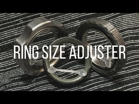Size Adjuster for Rings & Ring Spinners