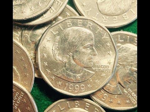 Key Date Susan B Anthony Dollar Coins (1979-1981, 1999)