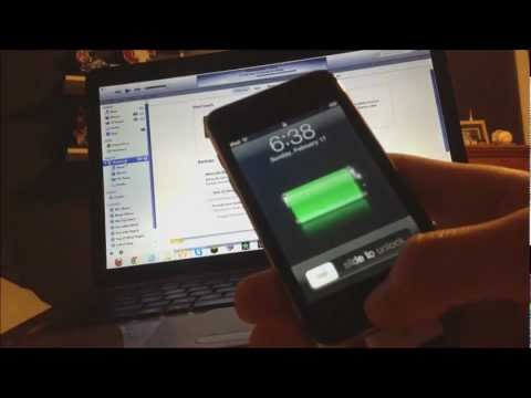 How to Downgrade Your iPod Touch 2nd Generation MC Model from iOS 4.2.1 to iOS 3.1.3 WITH JAILBREAK