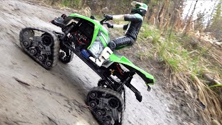 Download ATV TRX4 TRACKS on MUD MOUNTAiN w/ WiNCH ACTION! Forestry Trail Run   RC ADVENTURES Video