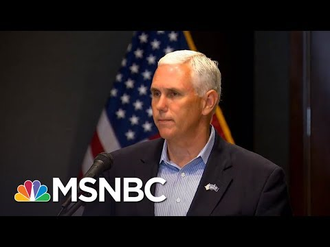 watch Mike Pence Lawyers Up As Donald Trump Reportedly Obsesses Over Russia Probe | The 11th Hour | MSNBC