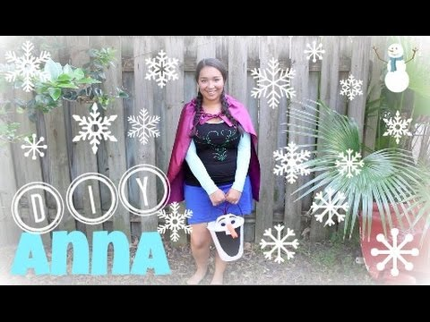 DIY l Frozen Anna Costume! Quick & Easy!