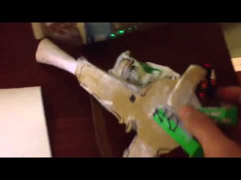 Homemade Raygun update 1