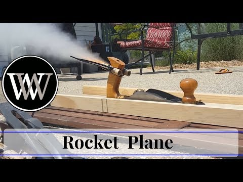 Rocket Powered Hand Plane - Hand Tool Woodworking