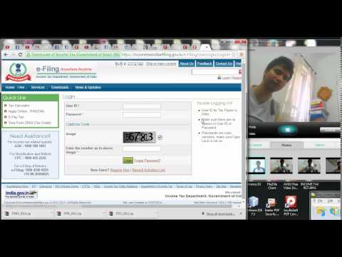 HOW TO SELECT AND DOWNLOAD TAX RETURNS | ITR 5