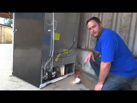 Repairing a GE Profile Refrigerator due to Flood Damage