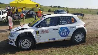 Chris Ingram Skoda Fabia R5 launch SS10 Rally Poland 2019
