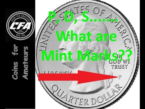 US Mint Marks on Coins   What are they and why are they there   How do I identify them