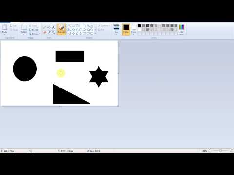 turn image to black and white using windows paint