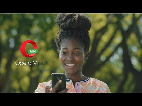 Save data with Opera Mini browser