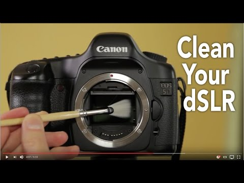 How to clean your digital camera Lenses and Sensor: Digital Photography Gear