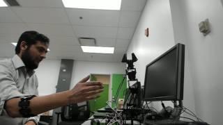 Controlling Arduino Using MYO - Second Video - X