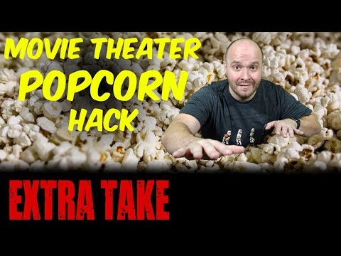 MOVIE THEATER HACK: Spice Up Your Popcorn - This Movie Theater Popcorn Topping tastes GREAT!