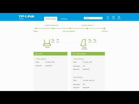 Steps of TP Link RE450 Extender Setup