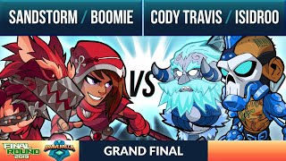 Sandstorm & Boomie vs Cody Travis & Isidroo - Grand Final - Final Round 2v2