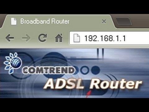 192.168.1.1 y 192.168.0.1: Configurar el Router ADSL