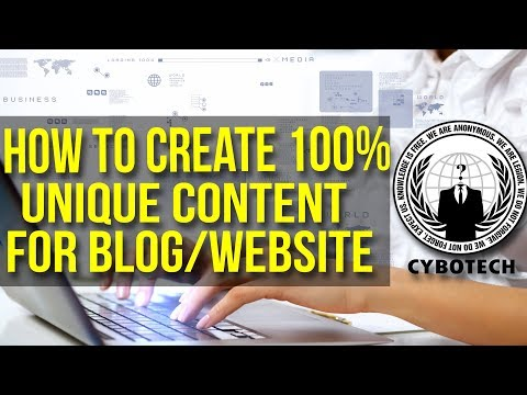 How To Create 100% Unique Content For Blog/Website   100% With Proof   Urdu/Hindi 2017