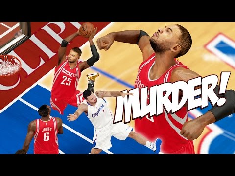 NBA 2K15 MyCareer Playoffs #66 - Double Dunk Alley-Oop ... Yikes! Clippers Face Elimination!
