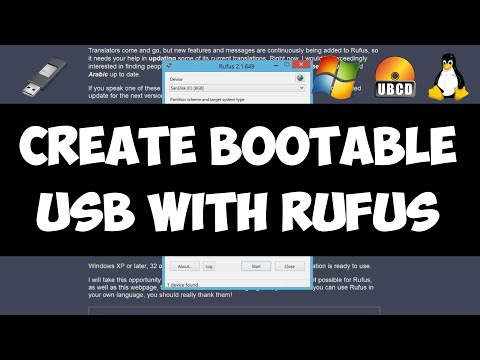 Create Bootable USB Flash Drive from ISO image with Rufus