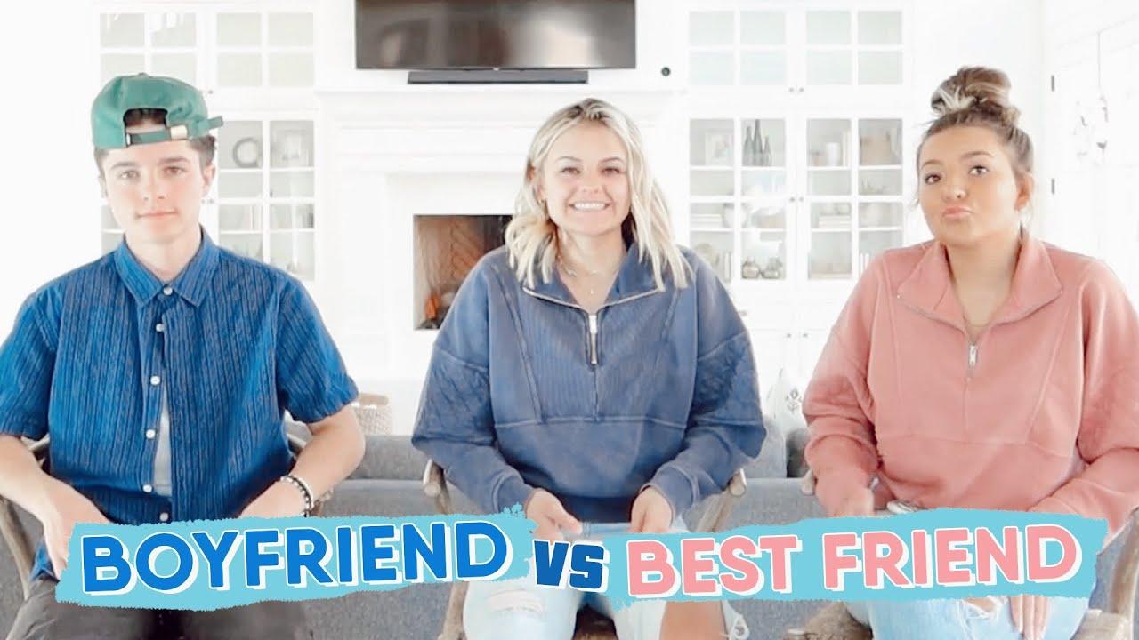 Who knows me better Boyfriend vs Best friend || Kesley Jade LeRoy