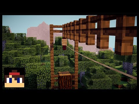 ✔ Minecraft PE: How To Make A Working Zipline | No Mods Or Addons!