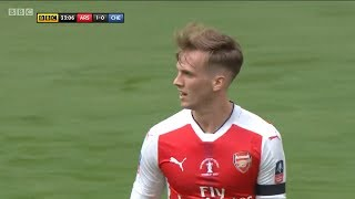 Rob Holding vs Chelsea | FA Cup Final | 27/5/2017