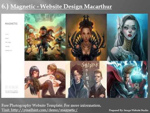 Best HTML5 Website Design Macarthur Templates by Image Website Studio