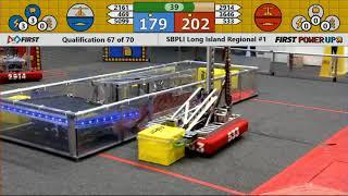 Qual 67 - 2018 SBPLI Long Island Regional #1