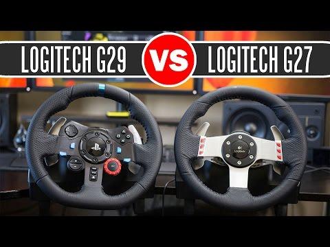 Logitech G29 Driving Force Racing Wheel vs Logitech G27 Force
