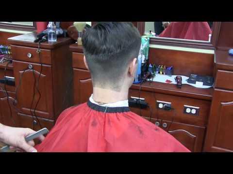 Barber Tutorial: How to Shape Up a Square Neckline