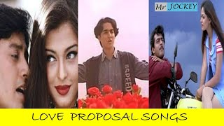 LOVE PROPOSAL SONGS | LOVE MELODIES | LOVE SONGS | TAMIL | 90's \u0026 2k HITS | MR. JOCKEY