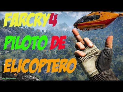 FARCRY 4-PILOTO DE HELICOPTERO-PS4