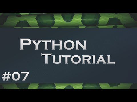 Python #7 - Listen, Tuple und Dictionaries