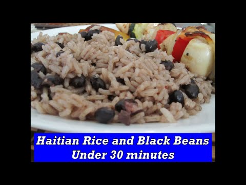Haitian Rice and Black Beans