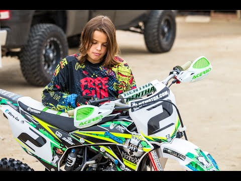 Motocross Kids Rippin On Dirt Bikes (Free Ride edition) Featuring FMX star Javier Villegas
