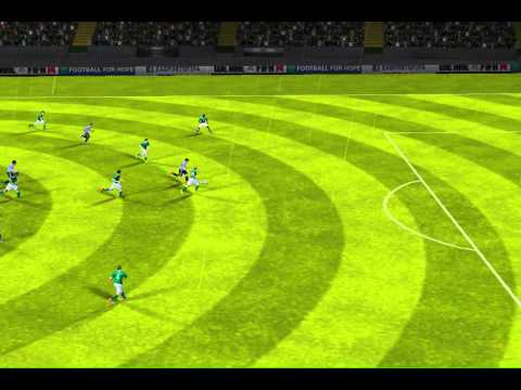 FIFA 14 iPad - Germany vs. Argentina World Cup Final 1