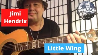 Jimi Hendrix - Little Wing - Easy Guitar Lesson