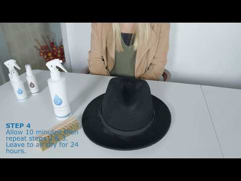 How to keep hats clean and safe from rain - Liquiproof Fabric Protector