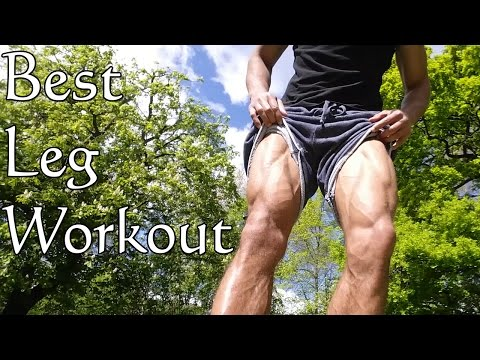 Best Bodyweight Leg Exercises - The Abnormal Workout