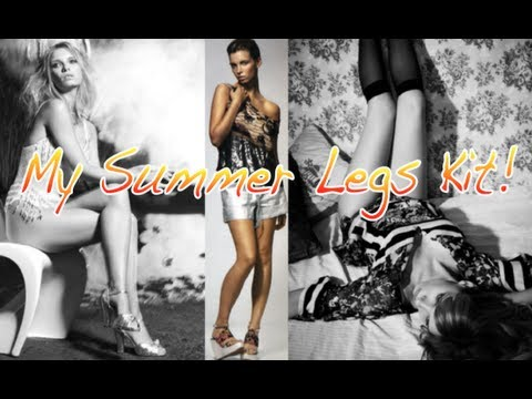 Beauty Kit: How to Get Perfect Legs for Summer!    A Model Recommends