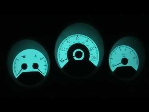 EL Dash Lighting for: Sebring, Caliber, Avenger, Charger, Magnum, & 300