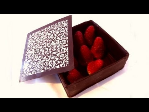 how to make a chocolate box by Ann Reardon - How To Cook That