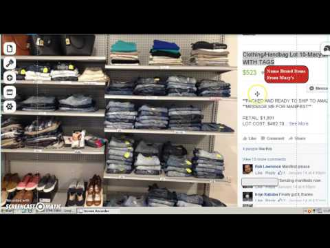 Amazon FBA: How To Sell Macy's Clothing And Handbags New With Tags