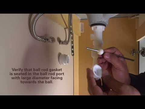 How to Install SInkSTRAIN FlexPOPUP Drain by PF WaterWorks