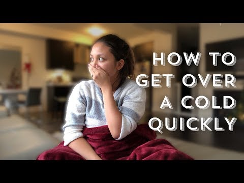 GUIDE TO GETTING OVER A COLD QUICKLY | vlogmas day 20
