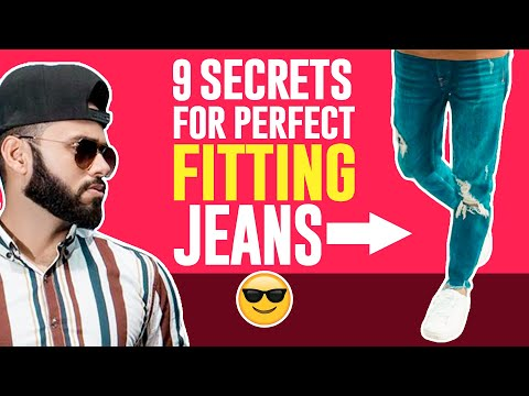 Secrets For Perfect Fitting Pants, You Don't Know | School/College/Office